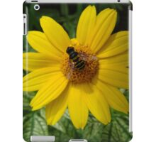 Loraine Sunshine ~ Heliopsis Helianthoides and the Bee iPad Case/Skin