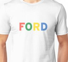 FORD vintage colours  Unisex T-Shirt