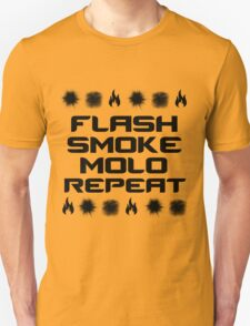 FLASH, SMOKE, MOLO, REPEAT T-Shirt