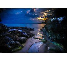 Summer Cloud Sunset Photographic Print