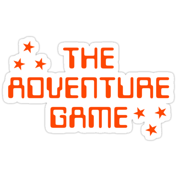 The Adventure Game title by unloveablesteve