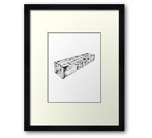 Call of Duty Zombies Mystery Box Framed Print