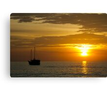 Sunset at Surin Beach, Phuket Canvas Print