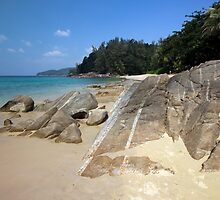 Banana Beach Phuket by Kevin Hellon