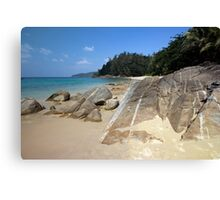 Banana Beach Phuket Canvas Print