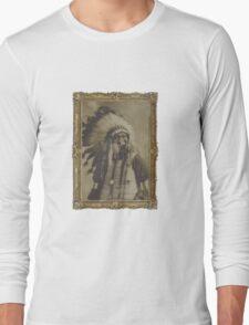 Indian Gas Mask Long Sleeve T-Shirt