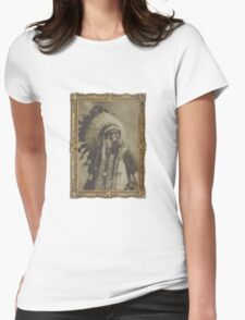 Indian Gas Mask Womens Fitted T-Shirt