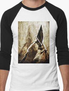 Pyramid Head Men's Baseball ¾ T-Shirt