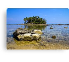 Low tide, Nai Yang, Phuket Canvas Print