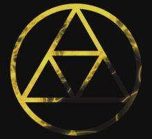 Triforce Design Yellow (Light Edition) by Hunter-Blaze