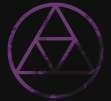 Triforce Design Purple (Shadow Edition) by Hunter-Blaze