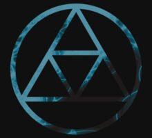 Triforce Design Cyan (Ice Edition) by Hunter-Blaze