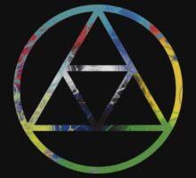 Triforce Design Rainbow (Reversed Edition) by Hunter-Blaze