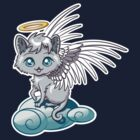 Angel Cat Chibi by Stephanie Whitcomb