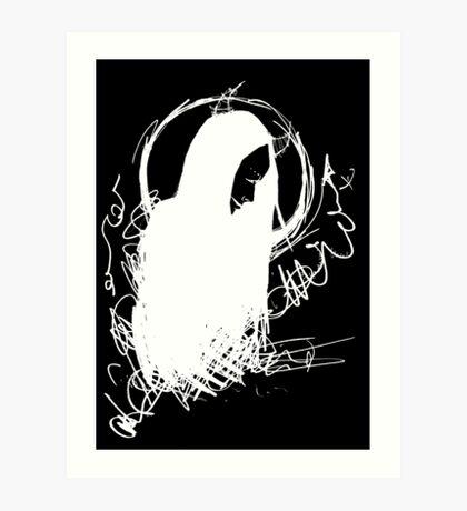 Demon (Inverted) Art Print