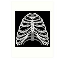 The Bones of a Winchester Art Print