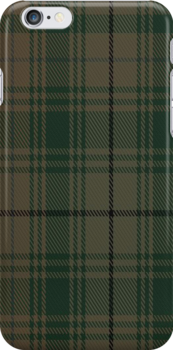 02163 Vance Ingelgem Hunting Tartan Fabric Print Iphone Case by Detnecs2013