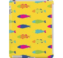 Fishes in Yellow iPad Case/Skin