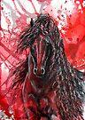 "Friesian Stallion - ""The Wizzard"" by louisegreen"