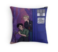 Wholock Throw Pillow