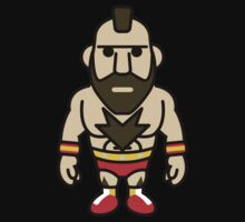 Zangief, the Red Cyclone of Street Fighter Baby Tee