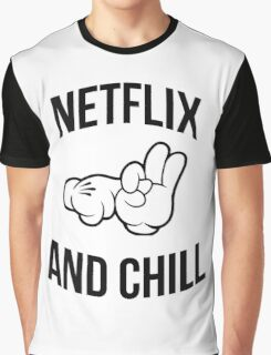 Netflix and chill - hands Graphic T-Shirt
