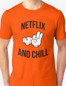 Netflix and chill - hands Unisex T-Shirt