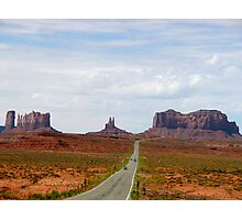Driving to Monument Valley Photographic Print