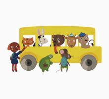 School Bus  by Judith Loske