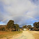 Blessed By  A Rainbow,  Rural NSW  Australia  by Kym Bradley