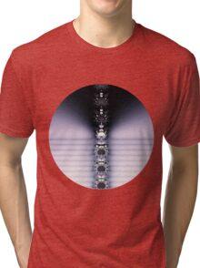 Purple Chain Tri-blend T-Shirt