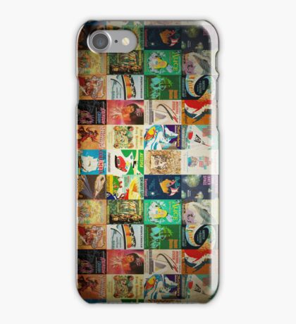 VINTAGE POSTERS iPhone Case/Skin