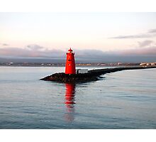 Dublin Harbour Lighthouse Photographic Print