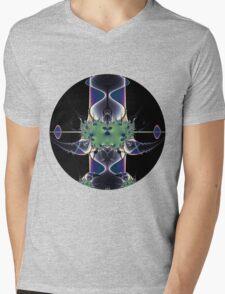 Purple Lamp Mens V-Neck T-Shirt