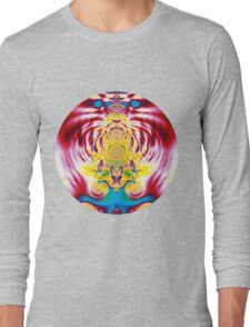 Red Spring Long Sleeve T-Shirt