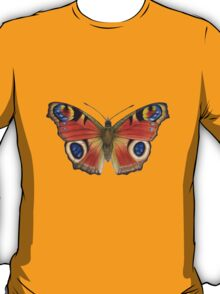 Peacock Butterfly (Inachis io) T-Shirt