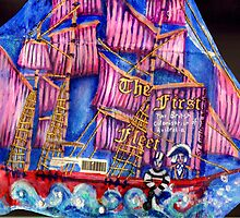 The First Fleet (The Sketchbook Project 2013) by Penny Lewin - Hetherington