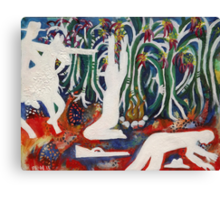 "Stringybark Creek- ""Bail Up!"" (Ghost bushranger series)  Canvas Print"