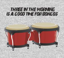 Big Bang Theory Bongos by CAsylum