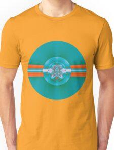Green Vinyl Disc Unisex T-Shirt