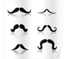 mustache Poster