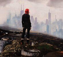 Urban Human Urban Fantasy Art by Galen Valle