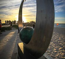 Sculptures by the Sea by Jeddaphoto