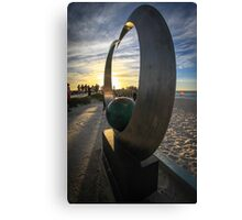Sculptures by the Sea Canvas Print