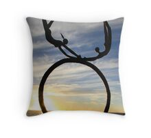 Flying Sculpture, Perth WA Throw Pillow