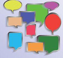 speech bubbles by valeo5