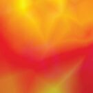 red and yellow abstract  background by valeo5