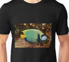 Emperor Angelfish, Mabul, Malaysia Unisex T-Shirt