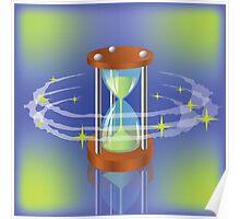 sand clock Poster