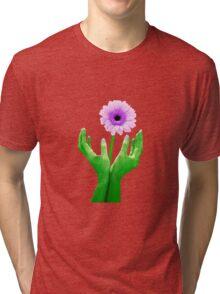 Green Fingers 2 Tri-blend T-Shirt